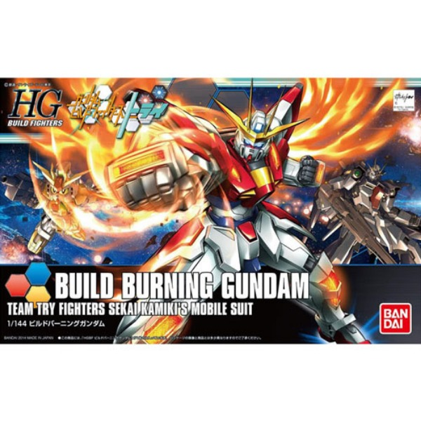[HGBF 018] 1/144 빌드버닝건담/ BUILD BURNING GUNDAM [193230]