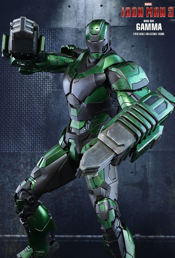 [핫토이] 1/6 아이언맨3 마크26 감마 / IRON MAN3 Mark.XXVI Gamma (Exclusive Edition) [MMS332]