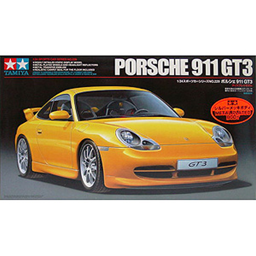 [TAMIYA] 1/24 Porsche 911 GT3(Metal Plated Body) 박스손상