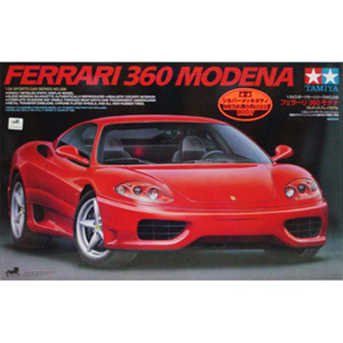 [TAMIYA] 1/24 Ferrari 360 Modena(Metal Plated Body)