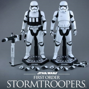 (초특가판매) [핫토이] StarWars7 First Order Stormtroopers Collectible Figures Set 1/6 스타워즈 퍼스트 오더 스톰트루퍼 세트 (MMS319)