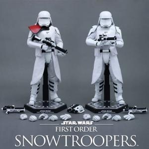 (초특가판매) [핫토이] StarWars First Order Snowtroopers Collectible Figures Set 1/6 스타워즈 퍼스트 오더 스노우트루퍼 세트 (MMS323)