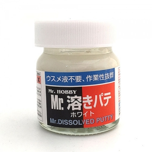[MR.HOBBY] P119 Mr.Dissolved Putty White / 액체퍼티 화이트