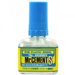 [MR.HOBBY] MC129 Mr.Cement S / 무수지 접착제