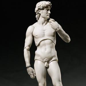 [FREEing] Figma SP-066 Davide di Michelangelo 테이블 미술관 다비드 상 [F29559]