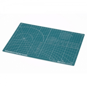 [TAMIYA] Cutting Mat A4 Green / 컷팅 매트 A4 그린 [74118]