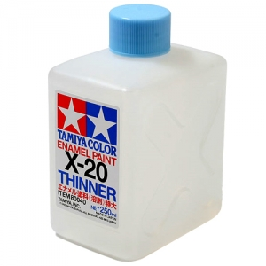 TAMIYA - X20 Enamel Thinner 250ml 에나멜 신너 신나 [80040]