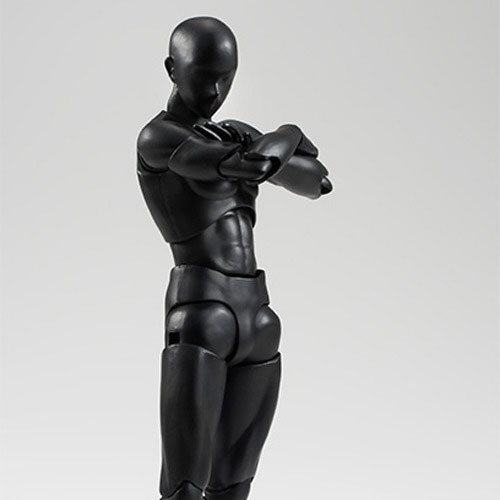 [반다이] S.H.figuarts 바디군 solid black color ver.