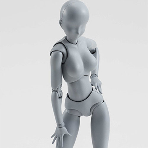 [반다이] S.H.figuarts 바디쨩 DX SET Gray Color Ver.