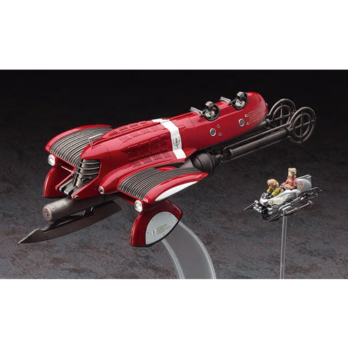 [HASEGAWA] 1/72 LAST EXILE Fam THE SILVER WING VANSHIP & VESPA (CW07) [64507]