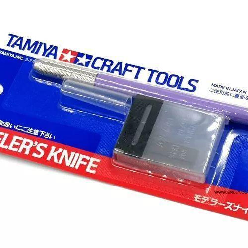 [TAMIYA] Modeler's Knife (Purple) 모델러 나이프 [69918]