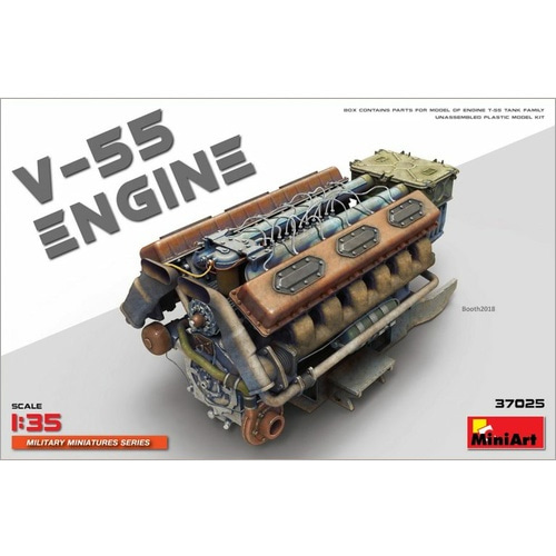 [Miniart] 1/35 V-55 Engine [37025]