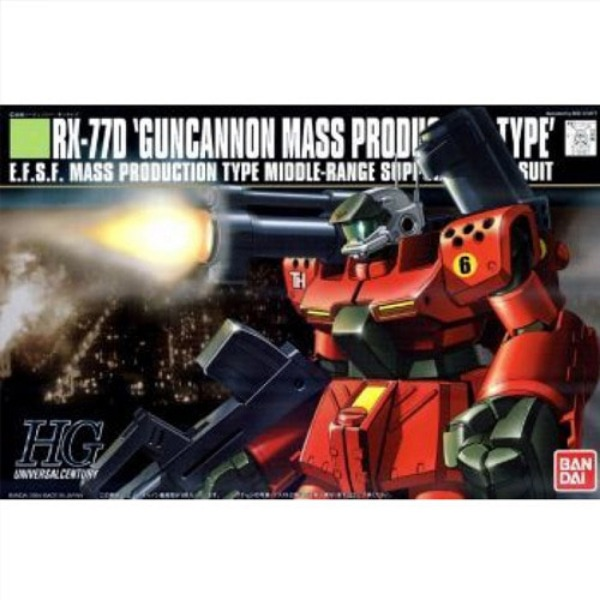 [HGUC 044] 1/144 RX-77D 건캐논 양산형 / GUNCANNON MASS PRODUCT TYPE [124121]