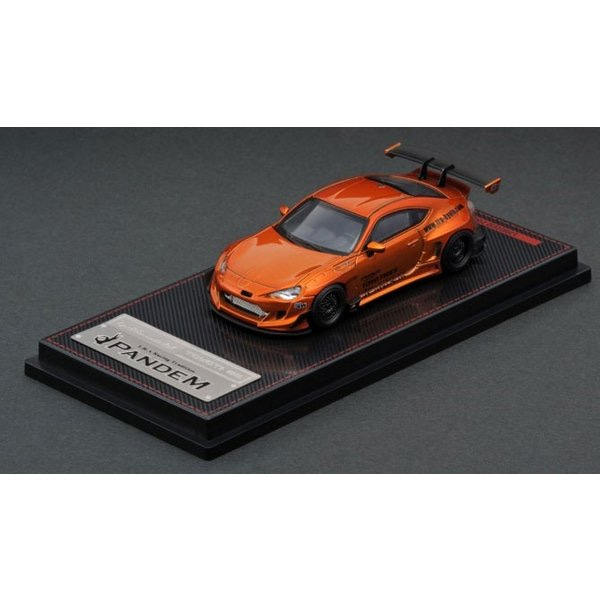 [IGNITION MODEL] 1/64 PANDEM Toyota 86 V3 오렌지 메탈릭 [88752]