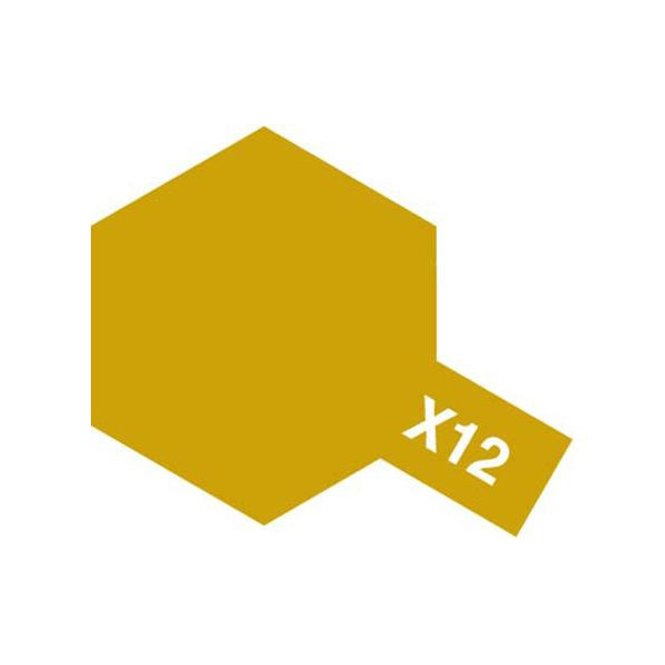 [타미야] Acrylic Mini X-12 Gold Leaf (골드리프) [81512]