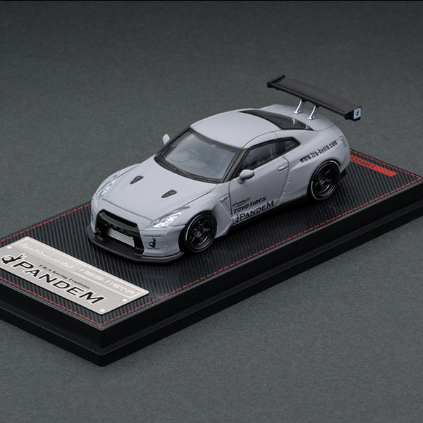 [IGNITION MODEL] 1/64 PANDEM R35 GT-R Matte Gray (다이캐스트) [88749]