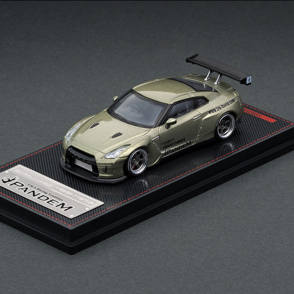 [IGNITION MODEL] 1/64 PANDEM R35 GT-R Green Metallic (다이캐스트) [88748]