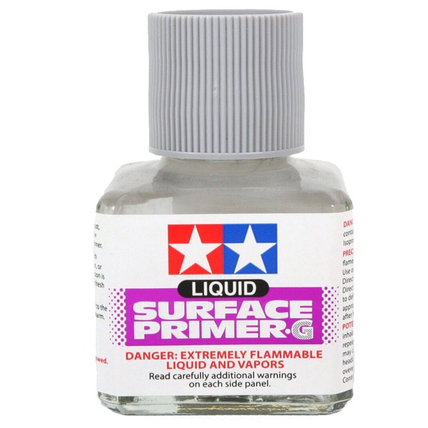 [TAMIYA] Liquid Surface Primer (Gray 40ml Bottle) [87075]
