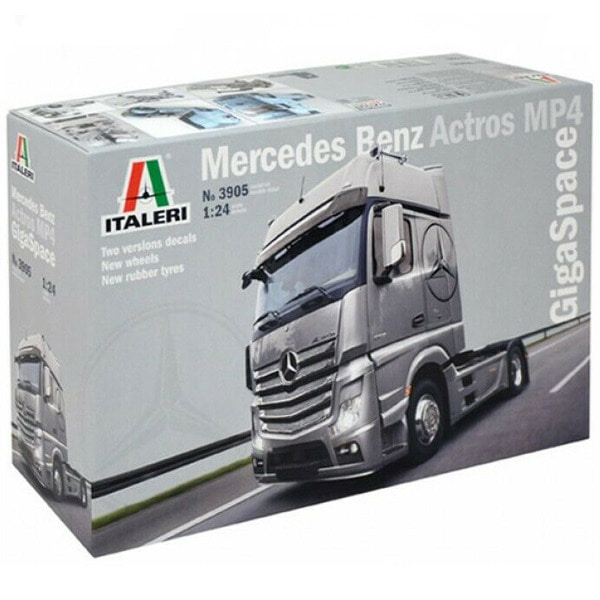 [ITALERI] 1/24 Mercedes Benz Actros MP4 Gigaspace [3905]