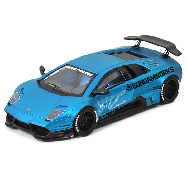 [LB★PERFORMANCE] 1/64 LB-WORKS 람보르기니 LP670 무르시엘라고 Matt Blue [68665]