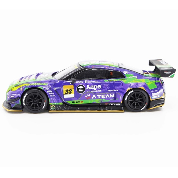 [TSM] 1/64 Mini GT 에반게리온 RT TEST Type-01 X Works GT-R No.33 2019 GT300 SUPER GT (MGT00090-L) [68742]