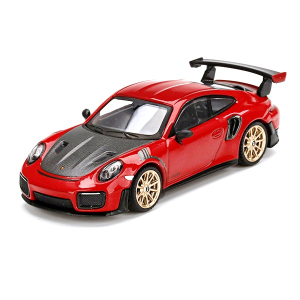 [TSM] MINI GT 1/64 포르쉐 911 (991) GT2 RS Guards Red (좌핸들) [68591]