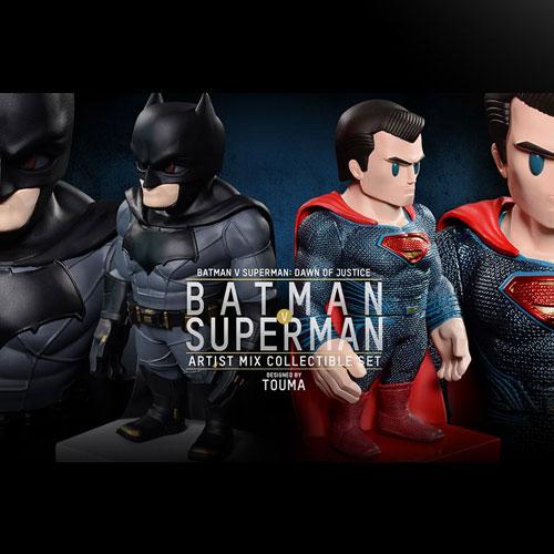 [HOTTOYS] 배트맨 대 슈퍼맨 : 저스티스의 시작 (Batman v Superman : Dawn of Justice) Artist Mix Bobble-Head / 토우마디자인 아티스트믹스 버블헤드 [AMC018-019]